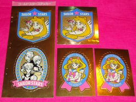 Sailor Moon Nakayoshi gold stickers - FOR SALE by onsenmochi