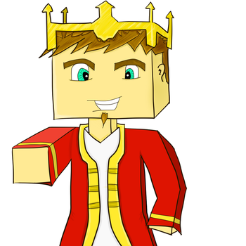 Minecraft Drawing Avatar Clemanaxe by Astinax98