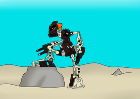 Toa of Stone by TDC-Blitzkitteh