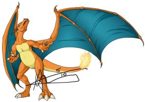 Charizard by vaiyapokemon