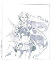 Supergirl - Sketch by MichaelCrichlow