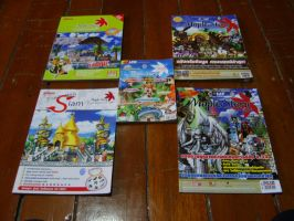 Maple Story's manuals by maxalate