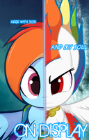 Super Rainbow Dash - 5OUL OF H4RMONY (2016) by Lux-Klonoa