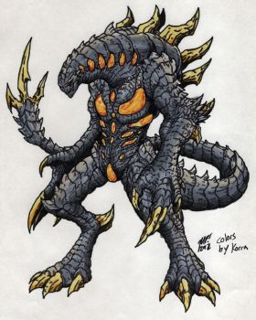 Nemesis for Kaiju combat! by MrKorra