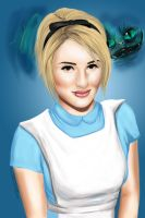 Dianna as Alice by Faberry-shipper