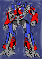 Optimus Prime by sonicshadowlover13