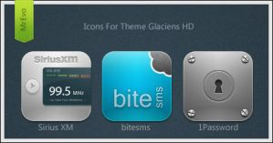 Extra Glaciens HD Icons Pack 5 by Mr-Evo