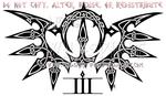 Celtic Knotwork Tribal Wings Design by WildSpiritWolf