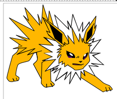 Jolteon by msiefker14