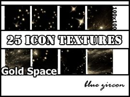 Gold Space Icon Textures by bluezircon-graphics