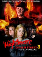 My 'Nightmare on Elm Street 3 Poster' by ChemicalMarcel