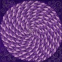 Violet Spiral by Jewelfly