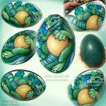 Jade Wyrmme's Egg by Swampqueen