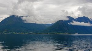 Crossing the fiord by francis1ari