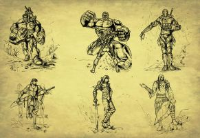 pencil works thumbnails by artistmyx