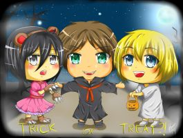 Trick or Treat?! - SNK by reese-yamawe