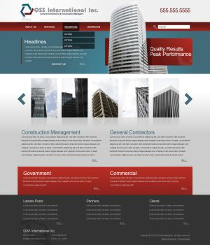 QSS CR Website Design by dFEVER