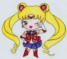 Sailor Moon by matali