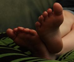 Female Bare Feet 4 PT2 by TobyMcDee