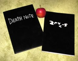 Home Made Death Note by Kirps