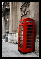The Red Phonebox by gdab008