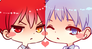 knb: akakuro icons by califlair