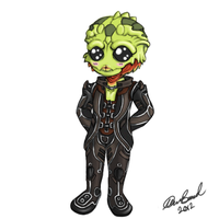 chibi thane by Dark-kitten158