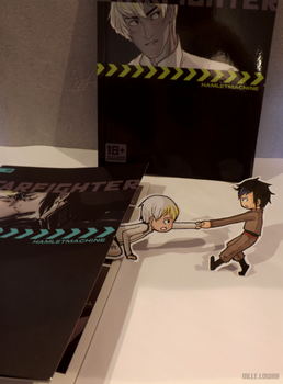 Cain and Abel (Starfighter) - Paperchildren by MlleLowra
