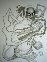 Iron Fist KAPOW! 2012 by TerryDodson