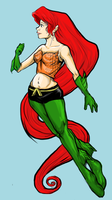 Ariel as Aquaman by ScrapCity