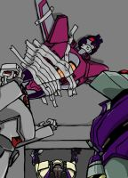 starscream ducttaped by Underbase