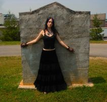 The Cemetery 4 by Cait-Shoxxi
