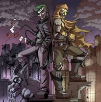 (COM) The Joker and the Goblin by Jaehthebird