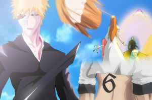 bleach ichigo vs grimmjow tribute by greengiant2012