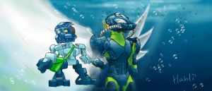 The Chronicler and the Sea-Toa by ToaTiome