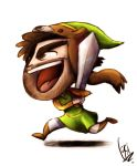 CTK - The Legend of Zelda A Link Between Worlds by ScribbleNetty