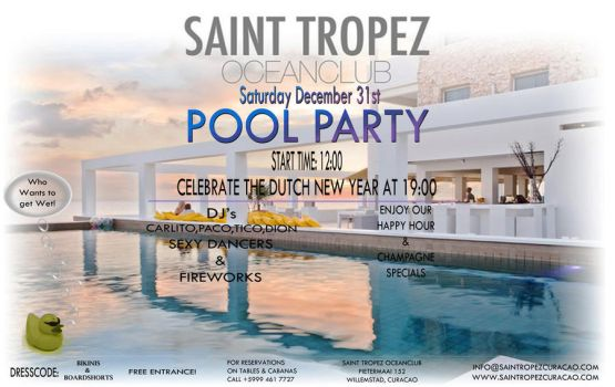 Saint Tropez Pool Party V.3 by AbstractMentality