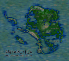 Fantasy Ice-Free Antarctica by rubberduck3y6