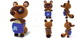 Tom Nook Amigurumi by icrochetthings