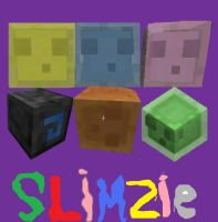 minecraft slimes by arrancer13