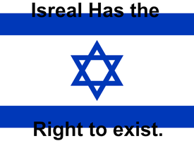 Isreal has the right to exist.. by DeltaHD