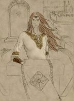 Maedhros at Himring Beta2.0 by Lucinda-Ithil