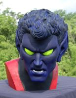 Lifesize Nightcrawler bust p by MalottPro