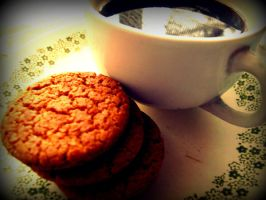 Coffee And Ginger Snaps by aydap