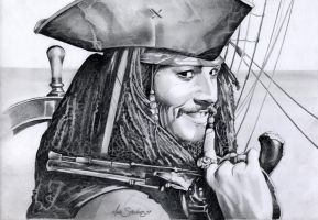 Johnny Depp Jack Sparrow by Sparkmachine