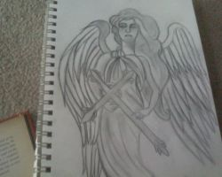 unfinished angel by iluvvanessa