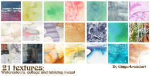 Emily's textures pack 1 by gingerbreadart