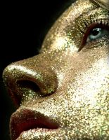 Golden Glitter by Crispey