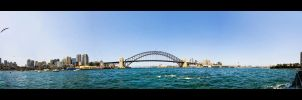 Sydney Harbour Panorama by WiDoWm4k3r