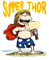 Summer THOR by Paterdixit